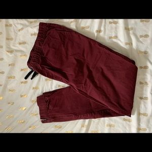 Guess Red Wine Joggers